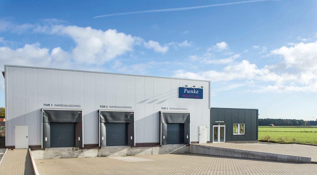 Logistik- und Dienstleitungszentrum am Ridderskamp