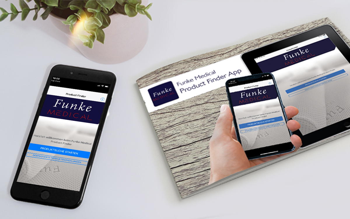 Funke Medical Product Finder App